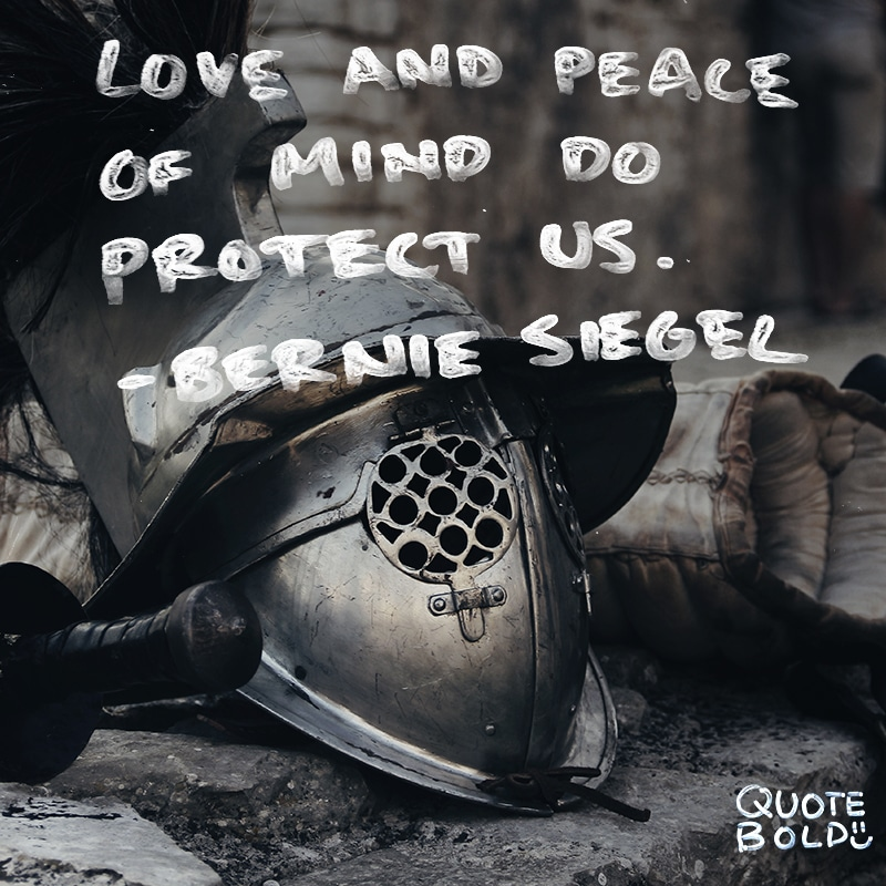 peace mind quotes protect