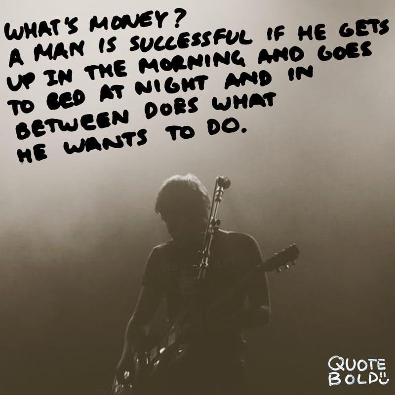 good morning quotes Bob Dylan