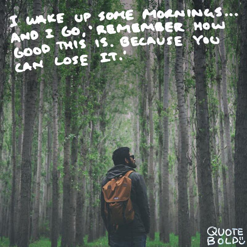 good morning quotes Jim Carrey