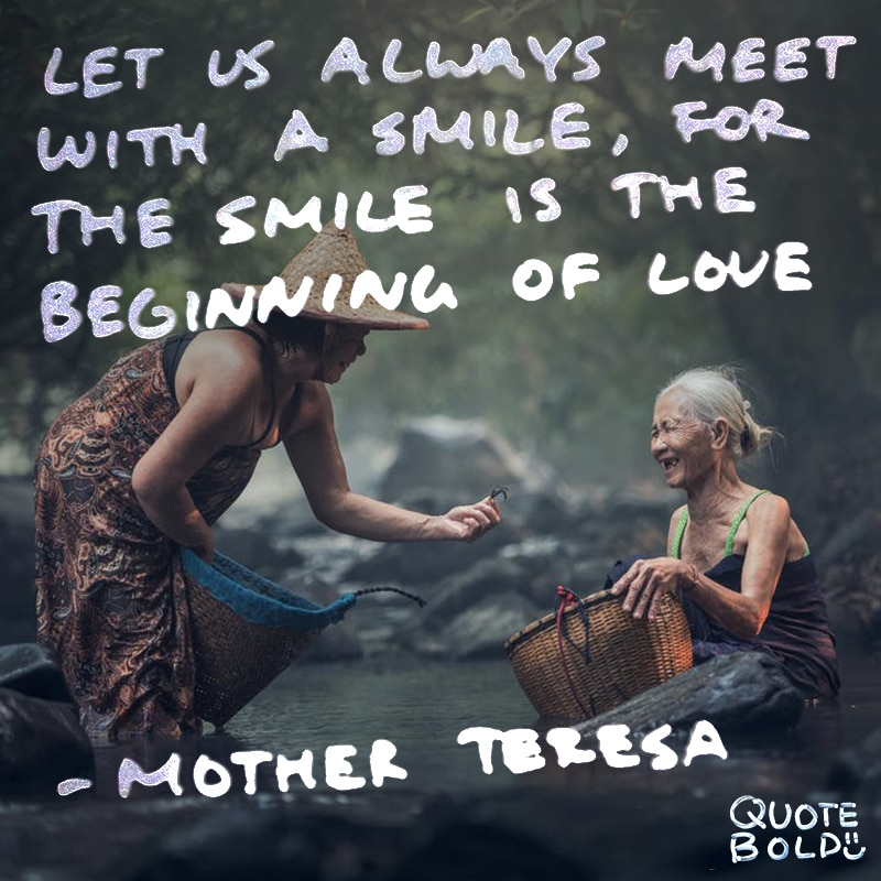love quotes mother teresa