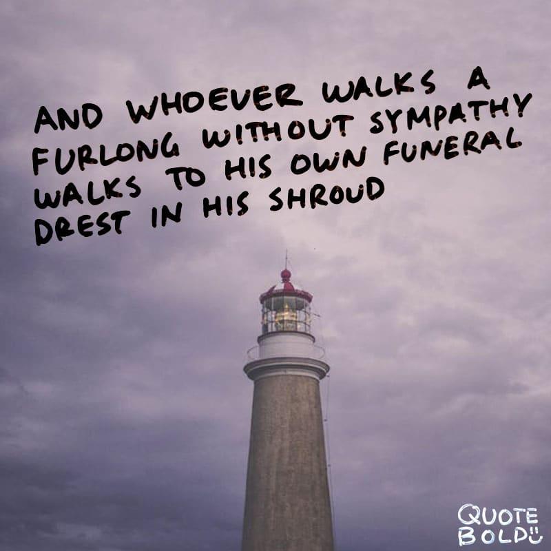 condolences quotes sympathy Walt Whitman