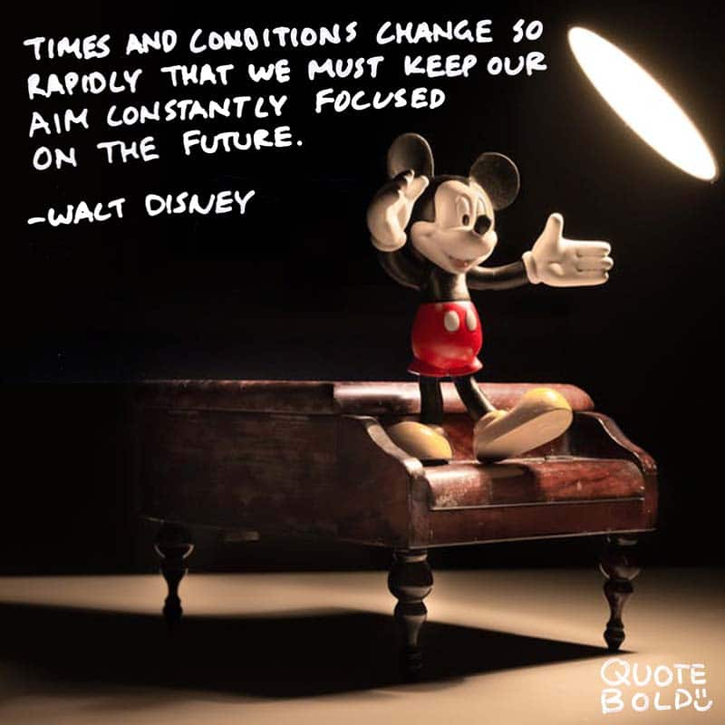 business owner quotes - Walt Disney