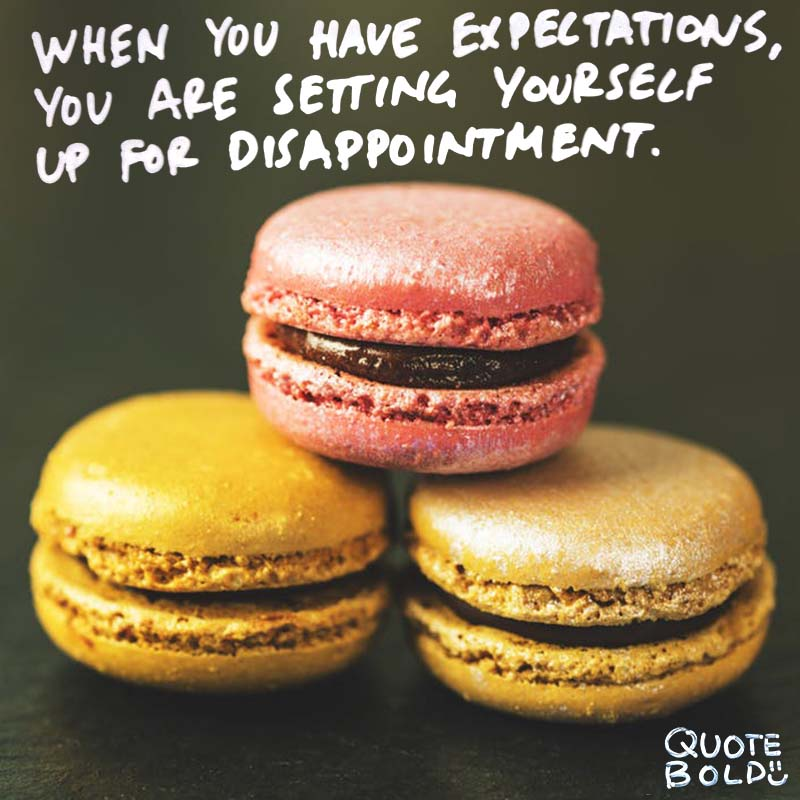 "focus on yourself quotes Ryan Reynolds. ""When you have expectations, you are setting yourself up for disappointment."""
