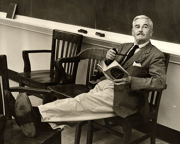 William Faulkner reading - William Faulkner - Read
