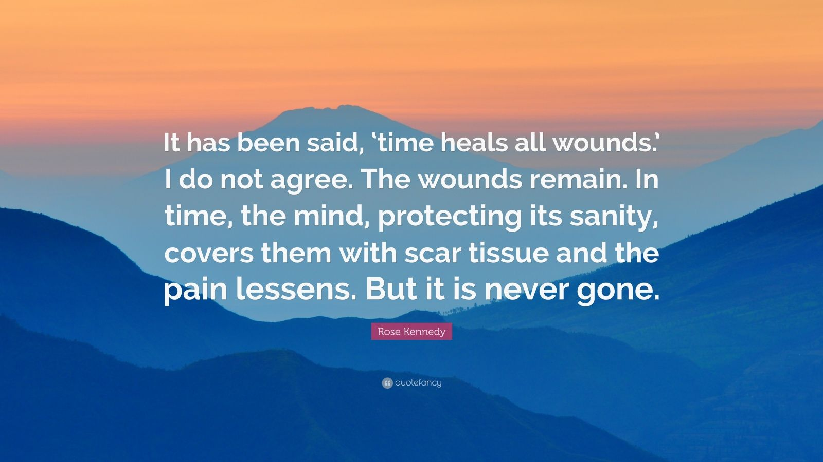 Time Heals All Pain Quotes