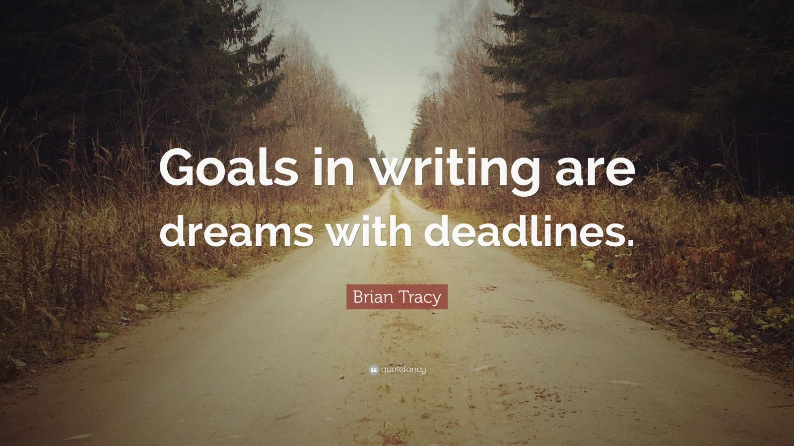 Brian Tracy Quote Goals In Writing Are Dreams With
