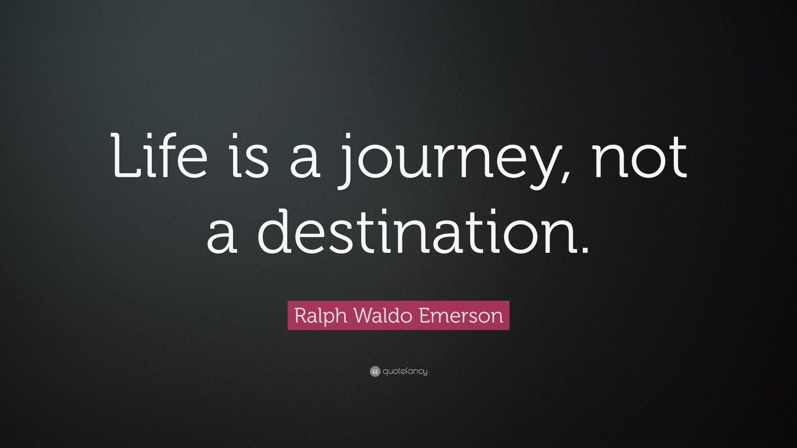 Journey Not Destination Leadership