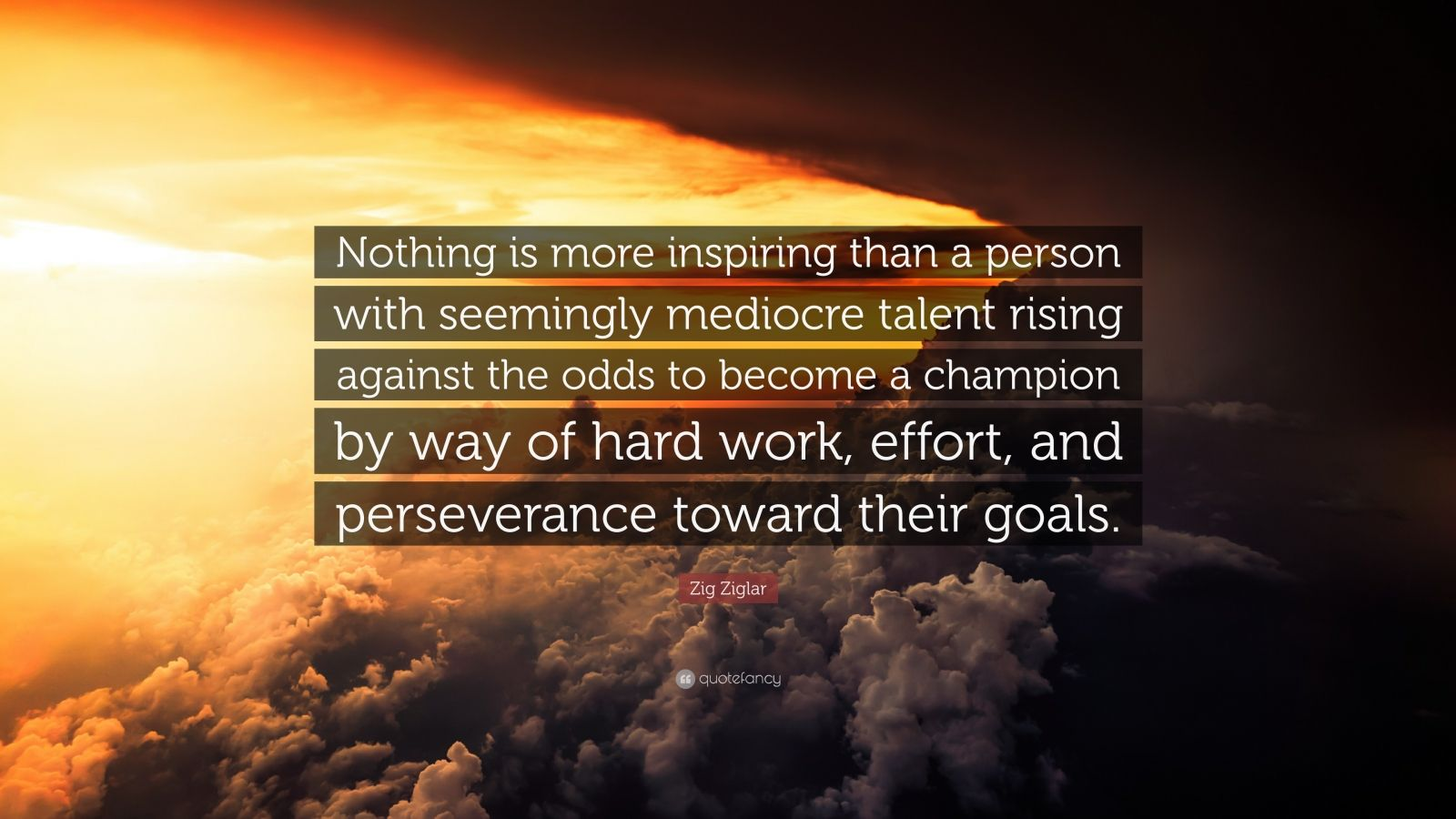 Zig Ziglar Quote Nothing Is More Inspiring Than A Person