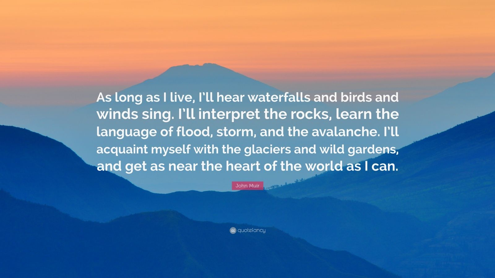 John Muir Quotes Wallpaper