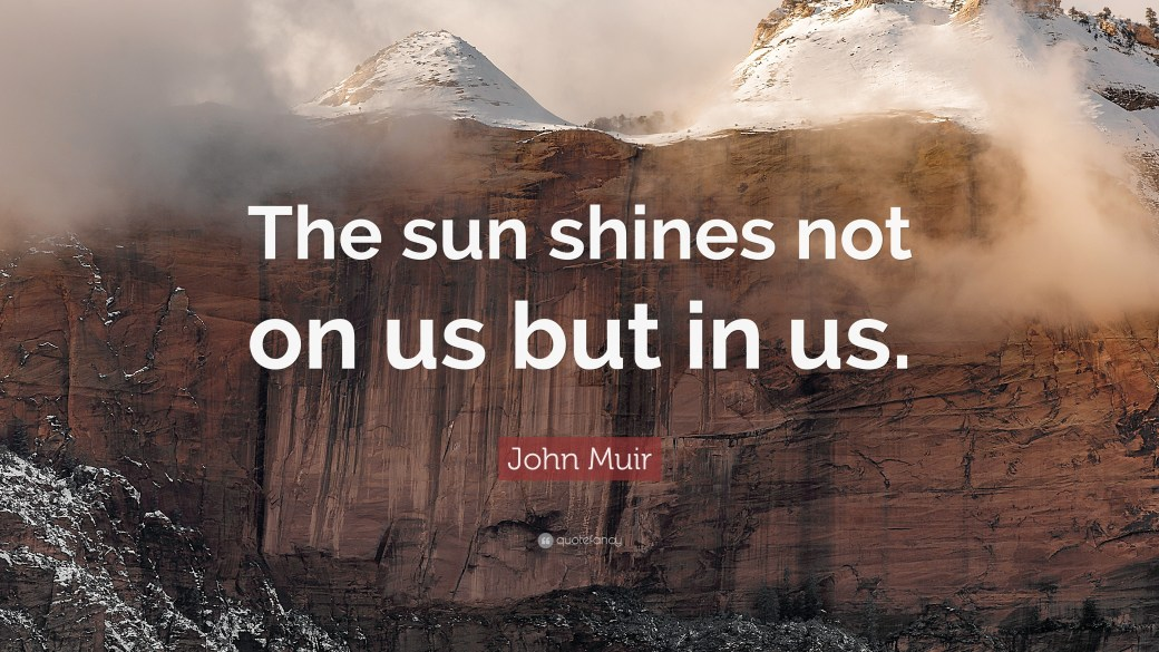Image result for sun shines not on us in us