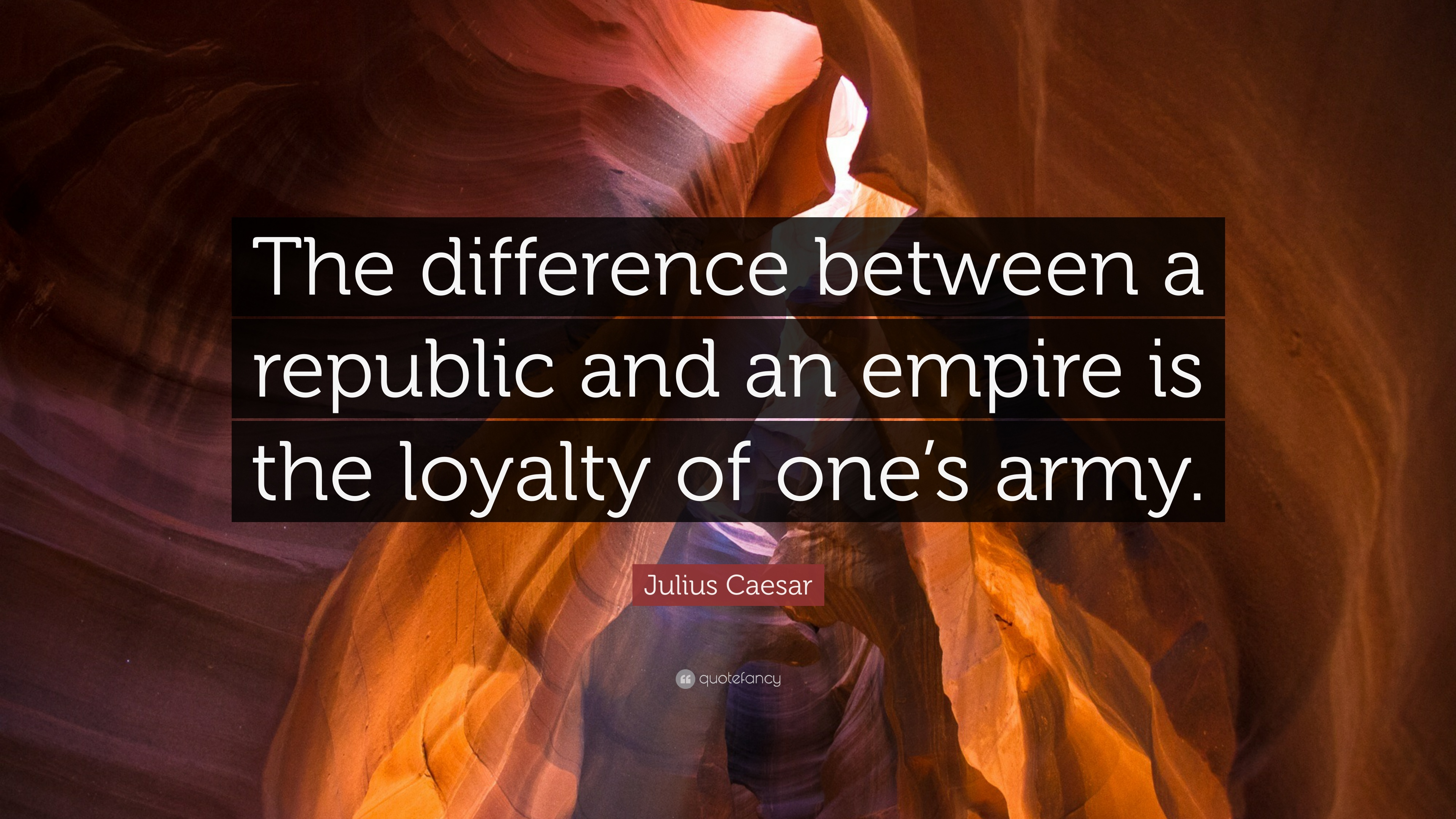 Julius Caesar Quote The Difference Between A Republic