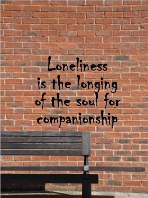 loneliness kills quotes