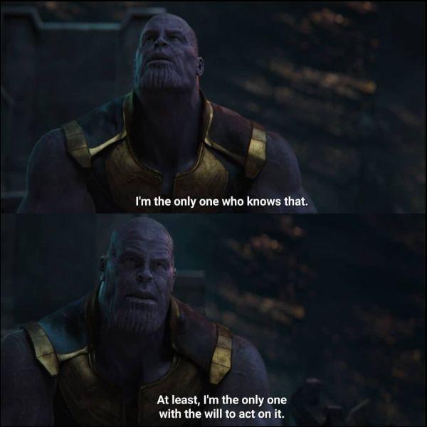 thanos quotes breaking up meme