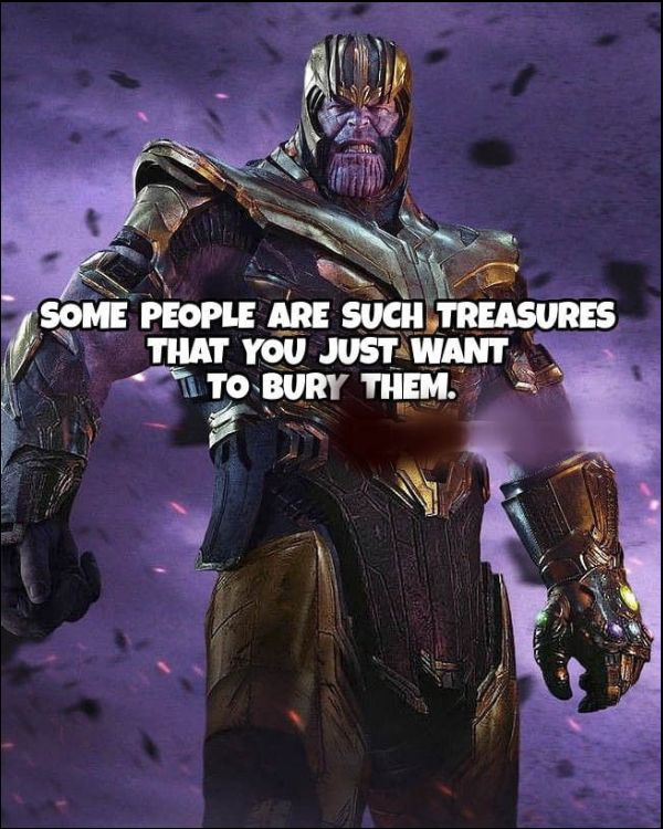 all thanos quotes