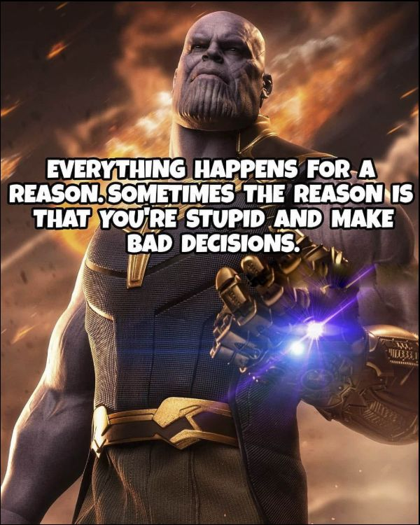 infinity war thanos quotes