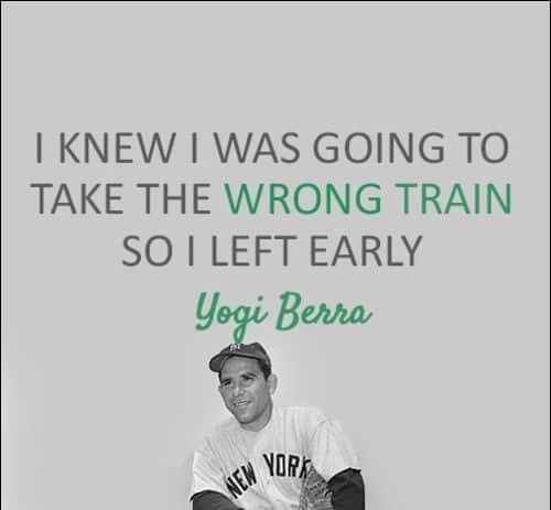 yogi berra baseball quotes