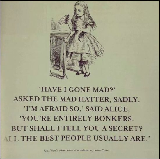 alice in wonderland quotes mad