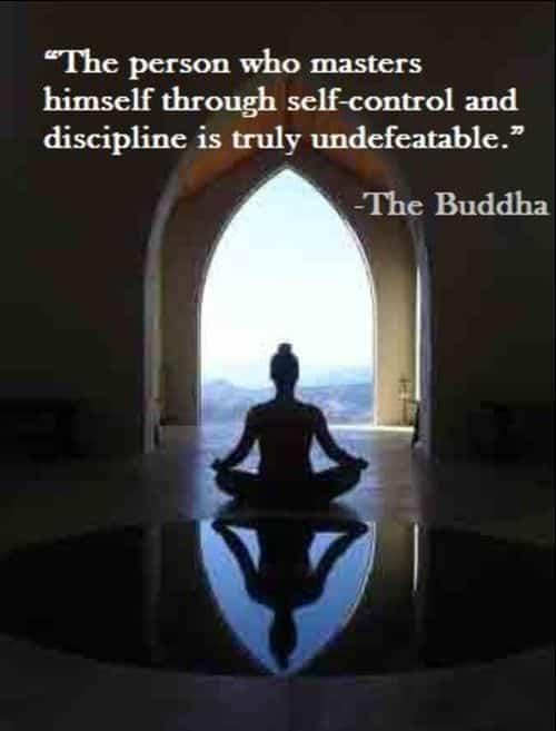 self discipline quotes buddha