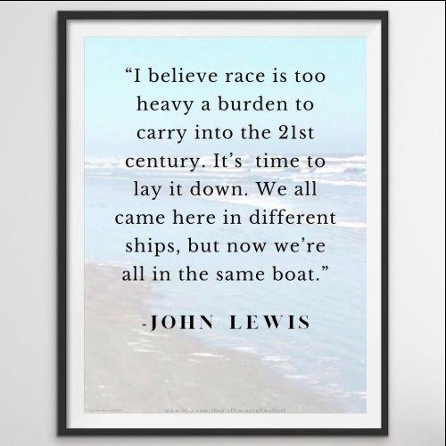 john lewis quotes good trouble