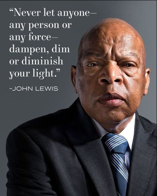 john lewis quotes on racism