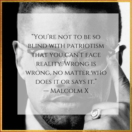 quotes from malcolm x