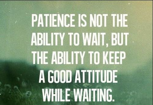 patience quotes and pictures