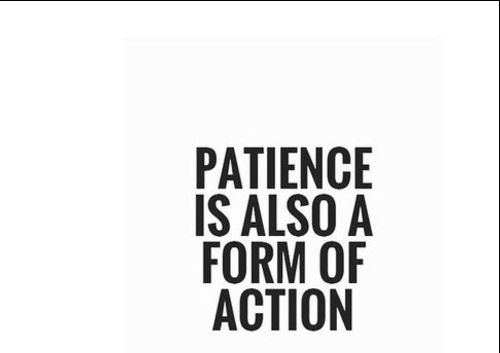patience quotes about life