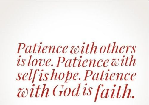 patience quotes business