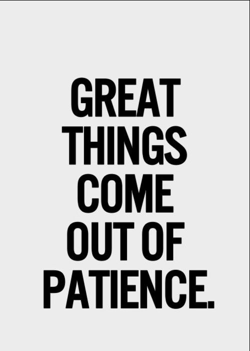 patience quotes and messages
