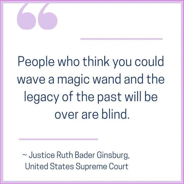 ruth bader ginsburg legacy quotes