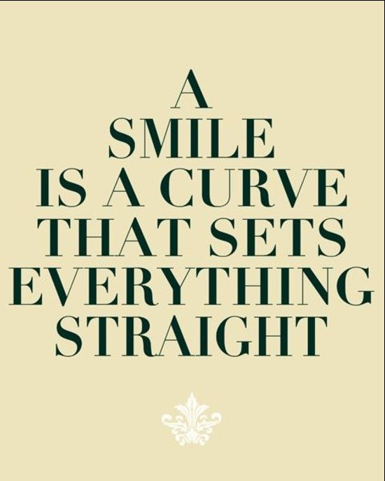 smile quotes on her