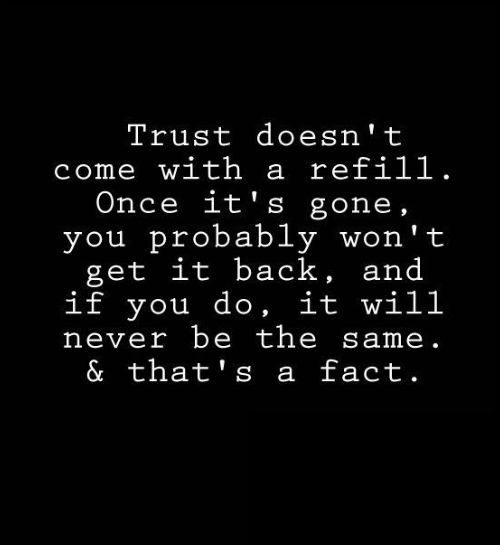 why trust anyone quotes