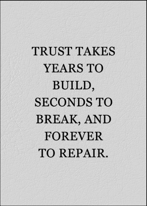 trust quotes with friends