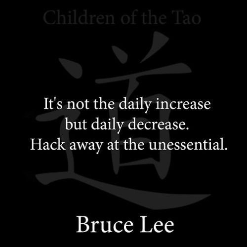 bruce lee quotes words