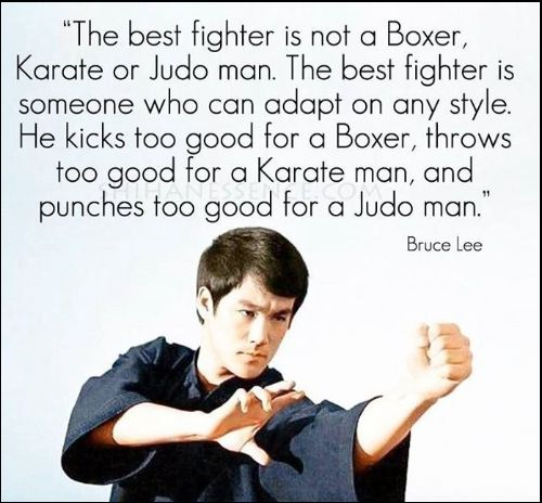 bruce lee quotes on fighting