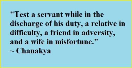 chanakya quotes life