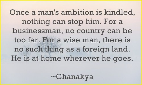 chanakya quotes about success