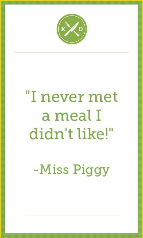food quotes from books