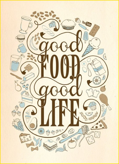 food quotes happy