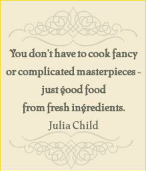 food quotes love