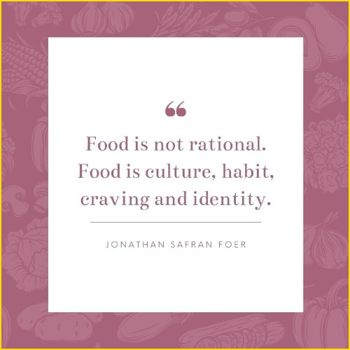 food quotes by famous authors