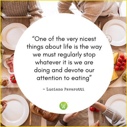 food quotes by authors