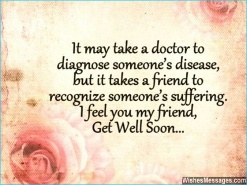 get well soon quotes for love
