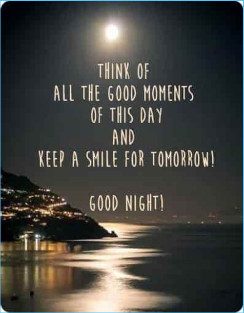 Good Night Quote messages text