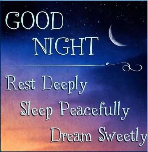 emotionally good night quote