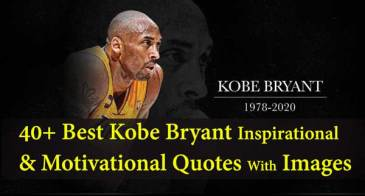 40 Best Kobe Bryant Inspirational And Motivational Quotes With Images