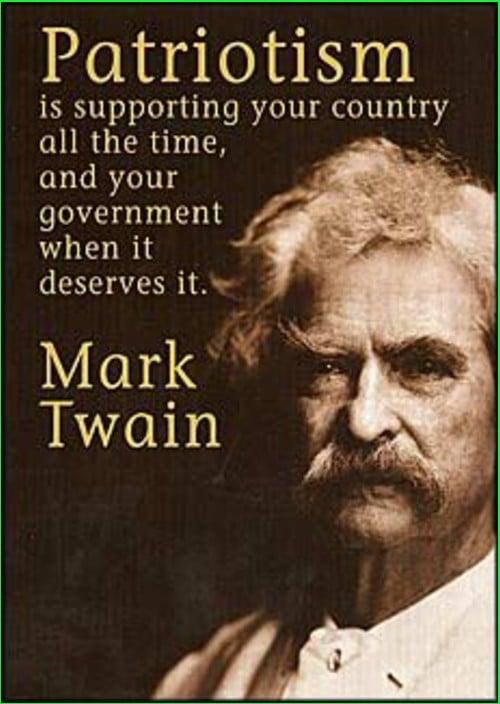 mark twain quotes politics