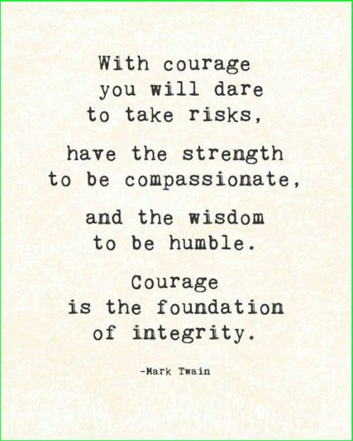 mark twain quotes courage