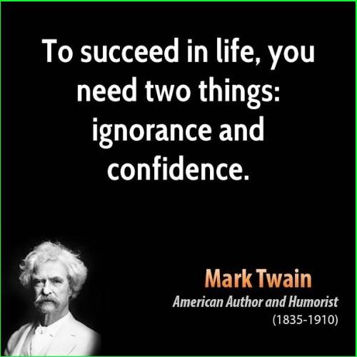 mark twain quotes success