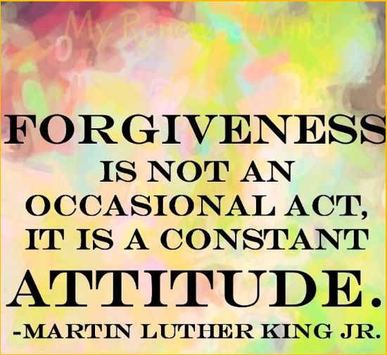 martin luther king quotes on forgiveness